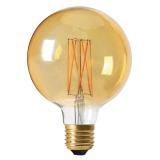 Elect Globe LED-Lampa Dimmer Guld
