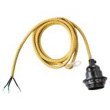 Electro Lampsladd Gul/Guld