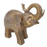 Elefant Prydnad Guld