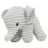 Elefant Randig Mjukisdjur Grå