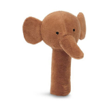 Elefant Skallra Brun