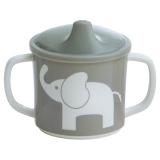 Elefant Spillfri Mugg Grå