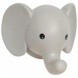 Elefant Vägglampa Grå