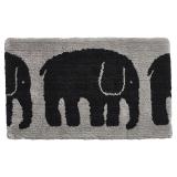 Elefantti Badrumsmatta Svart/Grå