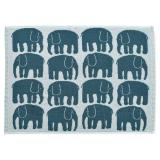 Elefantti Handduk Petrol