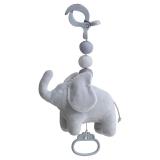 Elephant Marbles Hängleksak Speldosa Grå