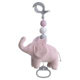Elephant Marbles Hängleksak Speldosa Rosa