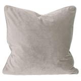 Elise Sammet Kuddfodral Silver 45x45