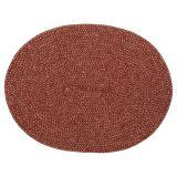 Ella Bordstablett Oval Röd