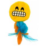 Emoji Grinny Kattleksak Gul