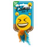 Emoji Laughy Kattleksak Gul