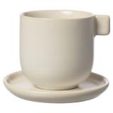 Ernst Kaffekopp med Fat Vit Sand