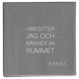 Ernst Servett Citat Rum/Tid Grå