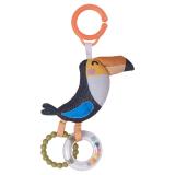 Fågeln Tuki Vagnleksak Multi
