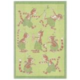 Findus Barnfilt Pettson & Findus Grön