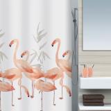 Flamingo Duschdraperi Rosa