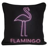 Flamingo Kuddfodral med Lampor