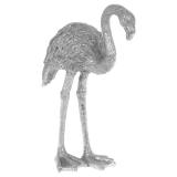 Flamingo Prydnad Silver