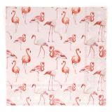Flamingos Servett Rosa