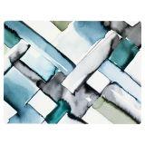 Fläta Tablett Gråblå