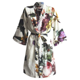 Fleur Kimono Offwhite