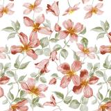 Flores Vaxduk Rosa