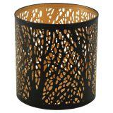 Forest Cylinder Ljuslykta Svart