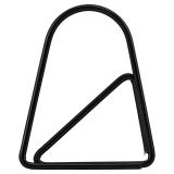 Geometric Gem Svart