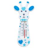 Giraff Badtermometer Blå