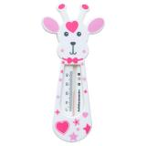 Giraff Badtermometer Rosa