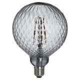 Globe LED-Lampa Kristall Grå