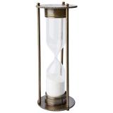 Globetrotter Timglas Svart/Mässing