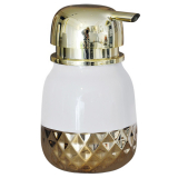Goldiz Tvålpump Vit/Guld