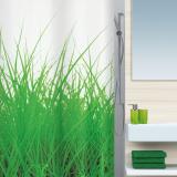 Spirella Grass Duschdraperi Grön