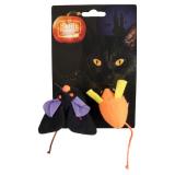Halloween Möss Kattleksak Multi 2-Pack