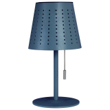 Halvar Solcellslampa Blå