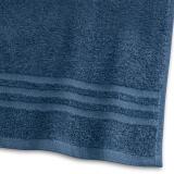Handduk Basic Frotté Marinblå