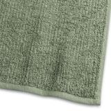 Handduk Stripe Frotté Grön