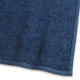 Handduk Stripe Frotté Marinblå