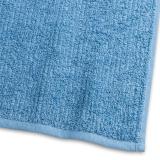 Handduk Stripe Frotté Mellanblå