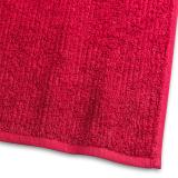 Handduk Stripe Frotté Röd