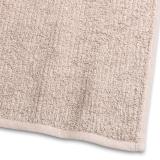 Handduk Stripe Frotté Sand