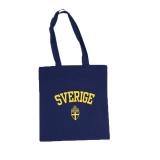 Heja Sverige Tygkasse Marin/Gul