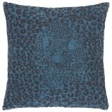 Hidden Lynx Kuddfodral Leopard Blå