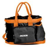 Jacson Jacson Ryktväska Svart/Orange