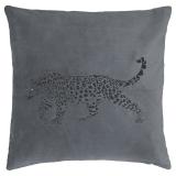 Jaguar Kuddfodral Sammet Grå