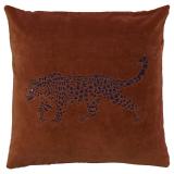 Jaguar Kuddfodral Sammet Rost