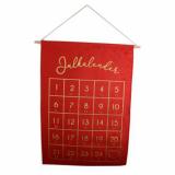Julkalender Röd/Guld