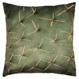 Kaktus Kuddfodral Sammet Grön
