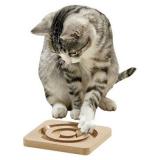 Kitty Cirkel Kattleksak Trä